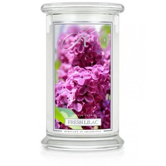 Fresh Lilac DUŻY słoik /     2 knoty