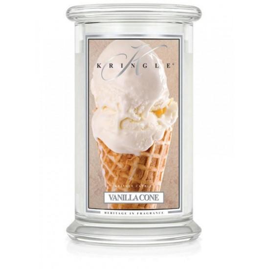Vanilla Cone DUŻY słoik /  2 knoty