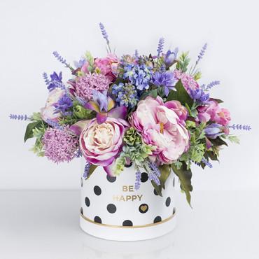 """Box kwiatowy """"Lawendowy Raj"""""""