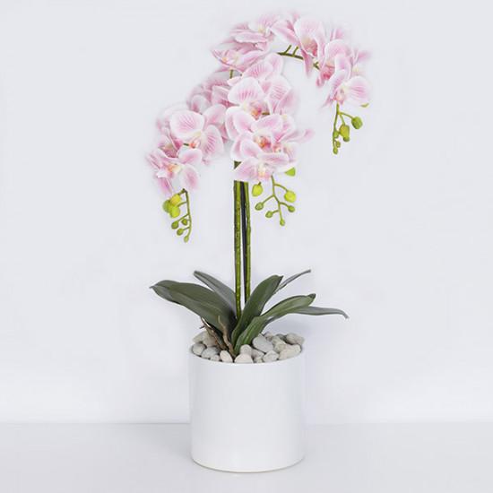 "Ekskluzywna Orchidea ""Baby Pink"" ok.61cm"